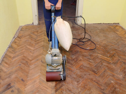 hardwood floor dustless sanding cape cod